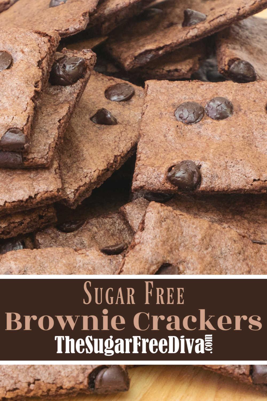 Sugar Free Brownie Crackers