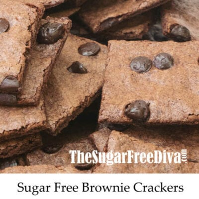 Sugar Free Brownie Crackers