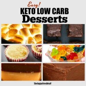 Keto Low Carb Desserts