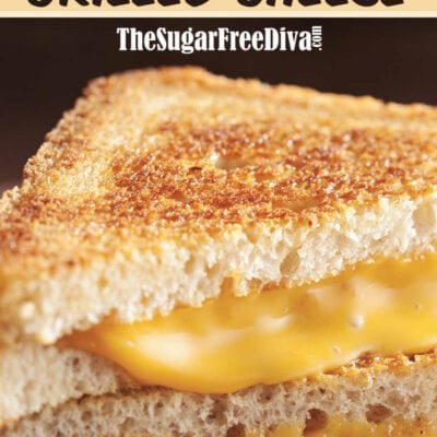 Low Carb Air Fried Grilled Cheese
