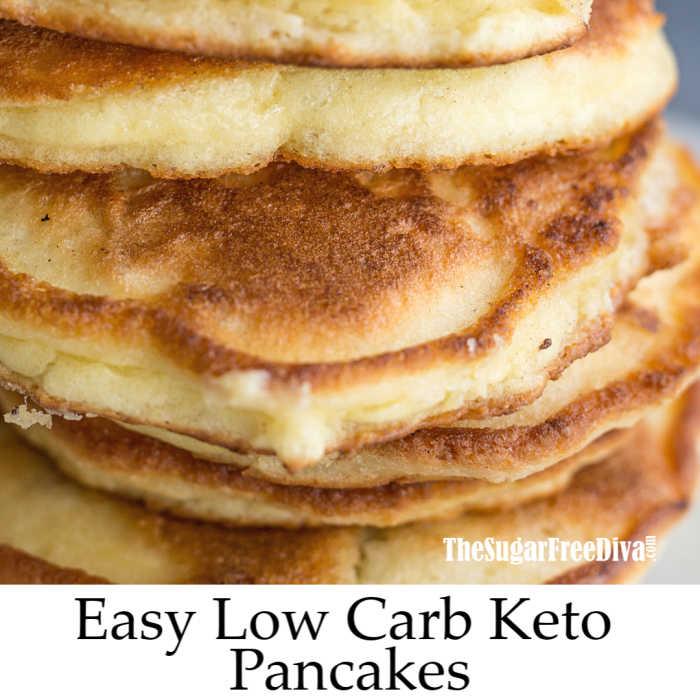 Easy Low Carb Keto Pancakes