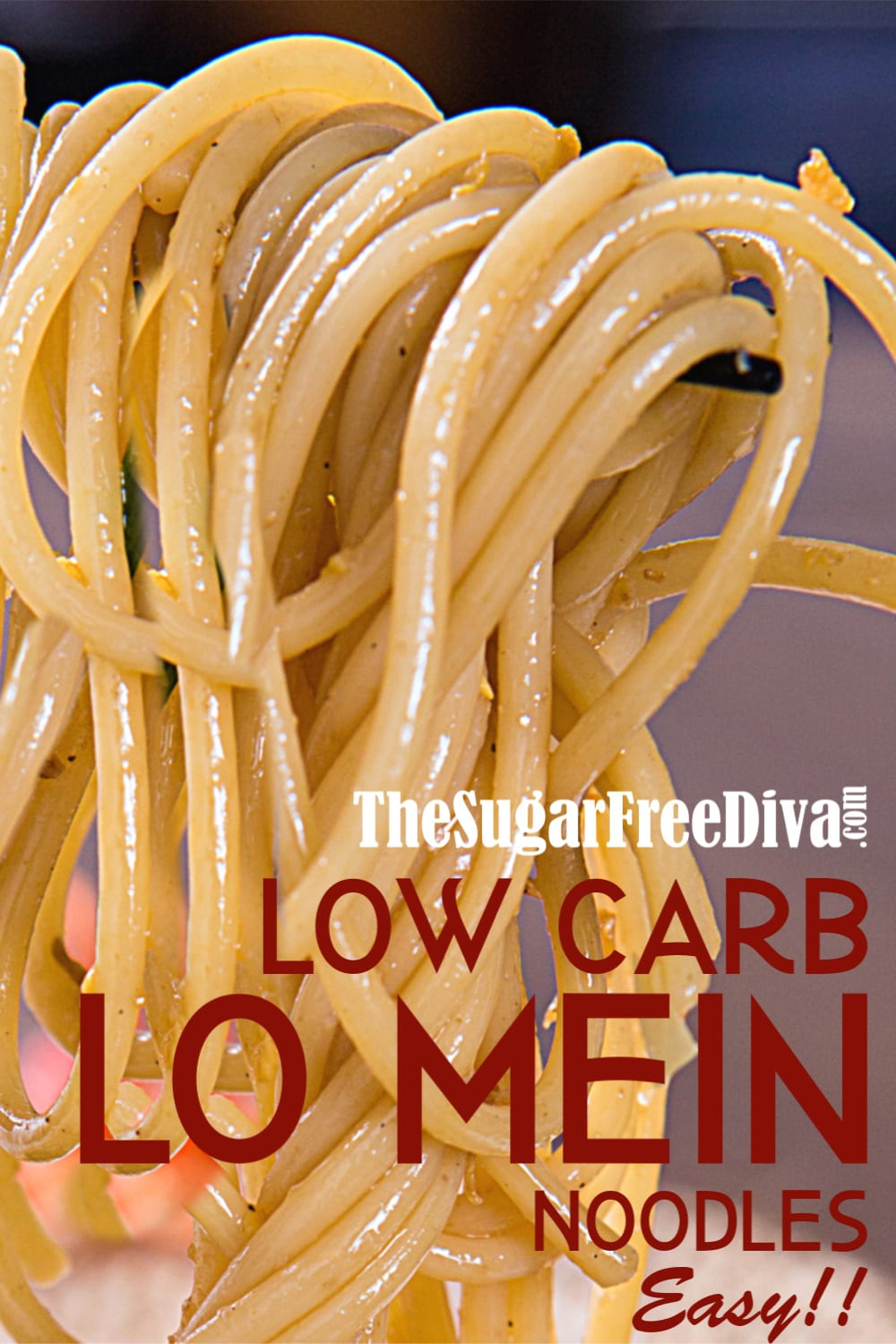 Easy Low Carb Lo Mein