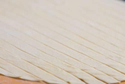 pasta strips