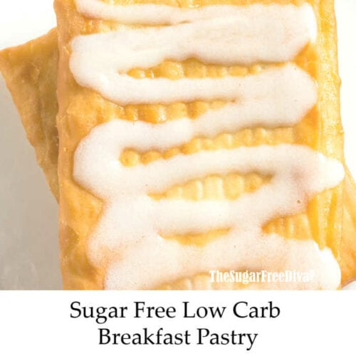 Low Carb Breakfast Pastry