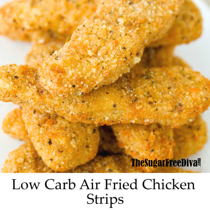 Air Fried Low Carb Chicken Tenders