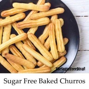 Sugar Free Baked Churros