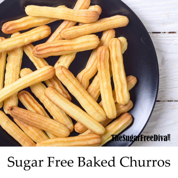 Sugar Free Baked Churros