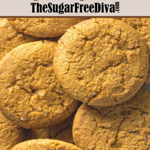 Sugar Free Ginger Snap Cookies