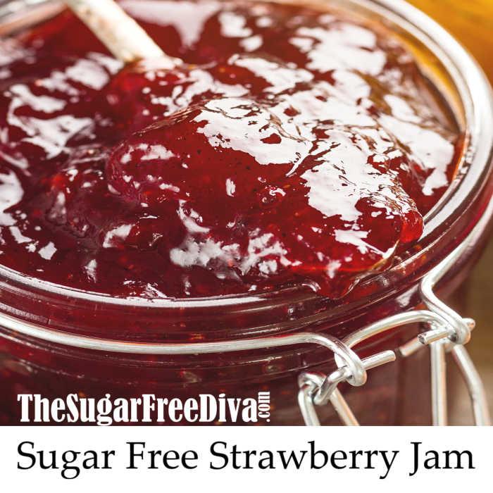How to Make Sugar Free Strawberry Jam