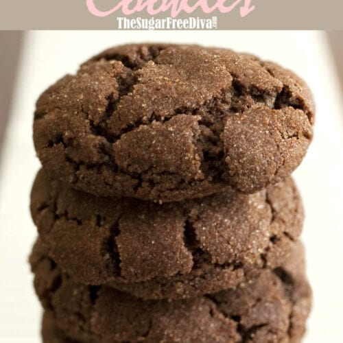 Sugar Free Mexican Hot Chocolate Cookies