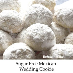Sugar Free Mexican Wedding Cookies