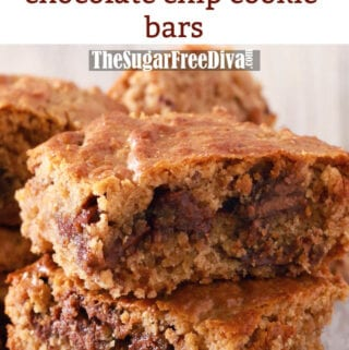 Sugar Free Almond Butter Bars