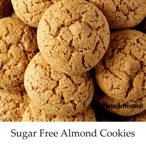 Sugar Free Almond Cookies