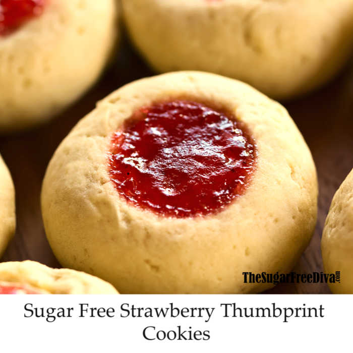 Sugar Free Thumbprint Cookies