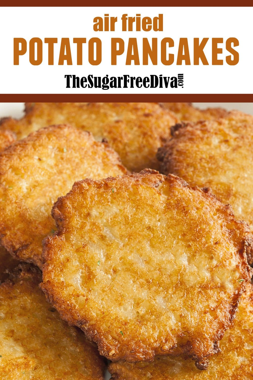Air Fried Baked Potato Pancake