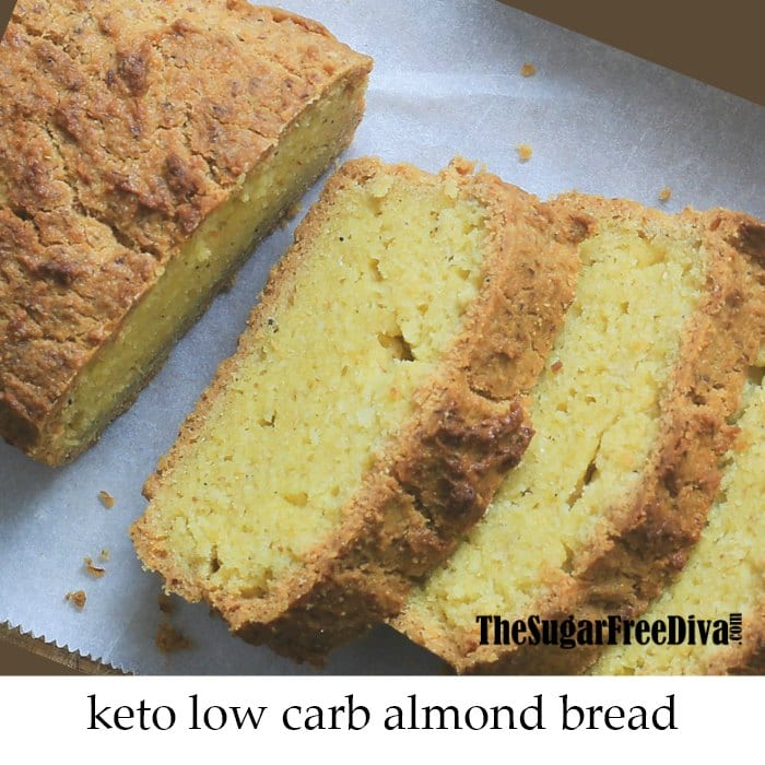 Keto Low Carb Almond Bread