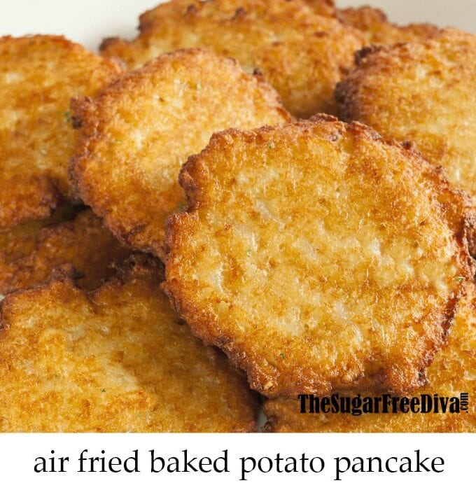 Air Fried Baked Potato Pancake