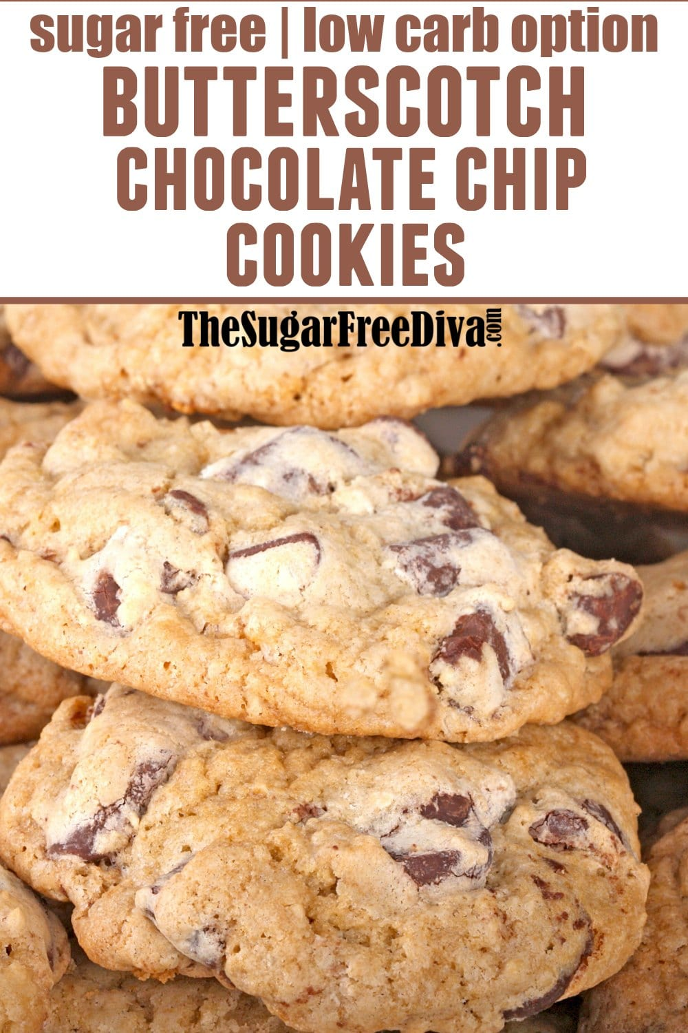Sugar Free Butterscotch Pudding Chocolate Chip Cookies