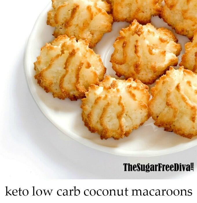 Keto Low Carb Coconut Macaroons