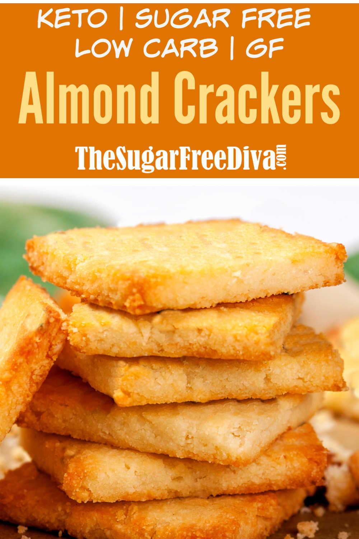 Low Carb Almond Flour Crackers