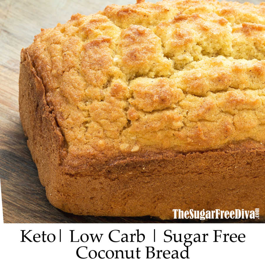 Keto Coconut Flour Bread The Sugar Free Diva