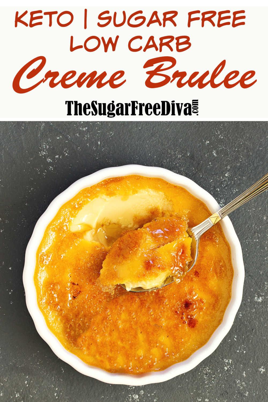 Low Carb Sugar Free Creme Brulee