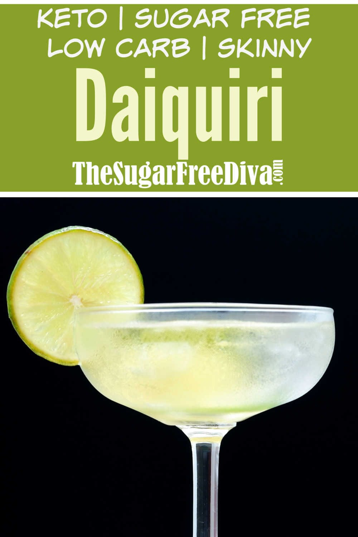 Sugar Free Skinny Daiquiri
