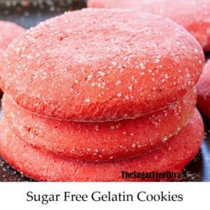 Sugar Free Gelatin Cookies