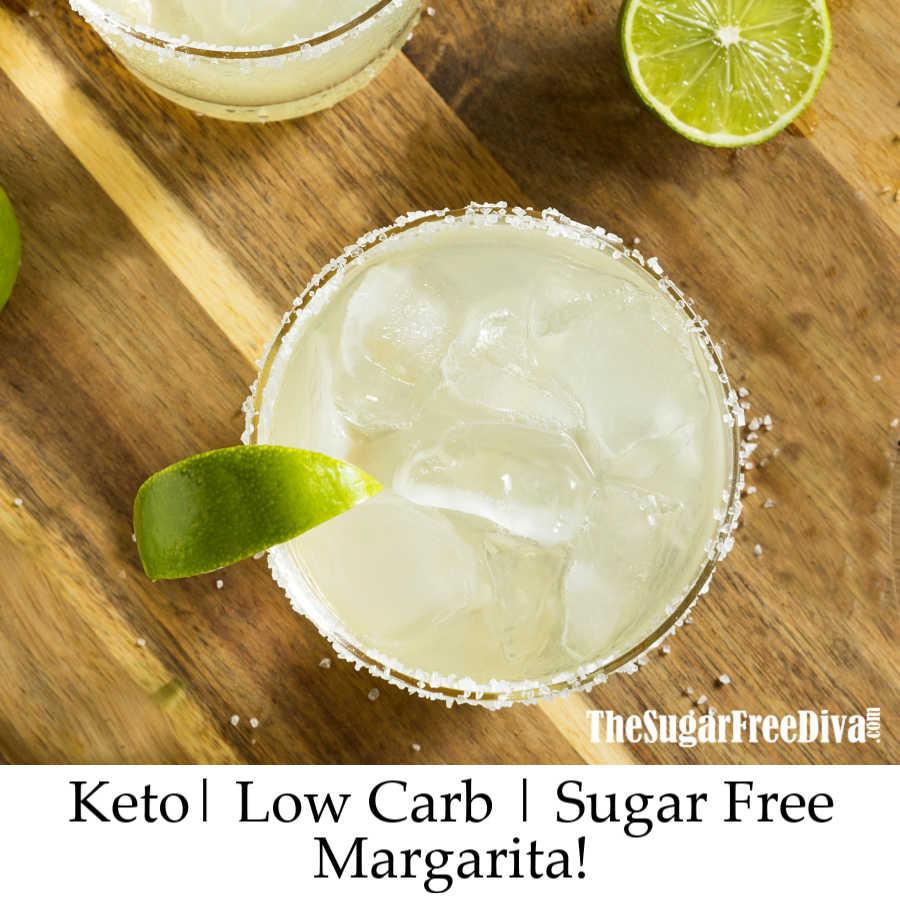 Keto Sugar Free Margarita
