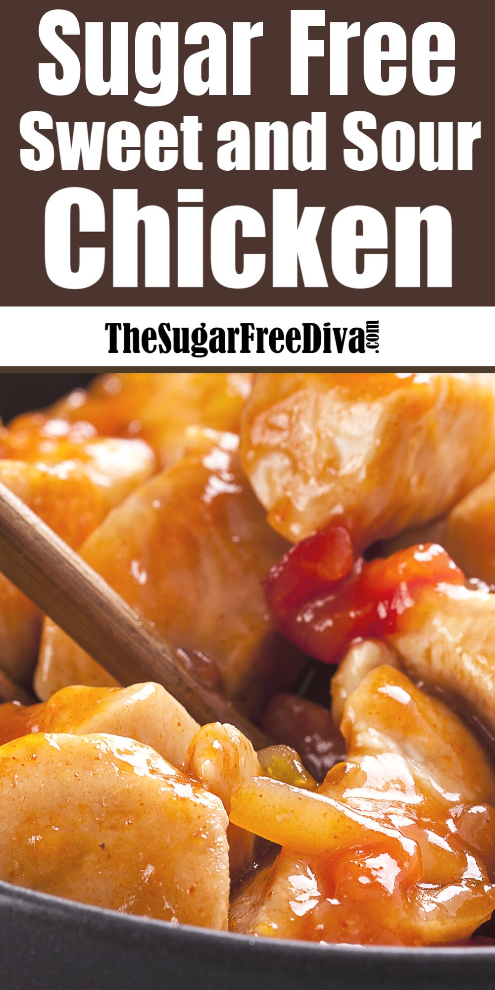 Sugar Free Sweet and Sour Chicken