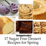 17 Sugar Free Dessert Recipes for Spring