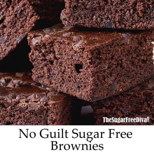 Guiltless Sugar Free Brownies