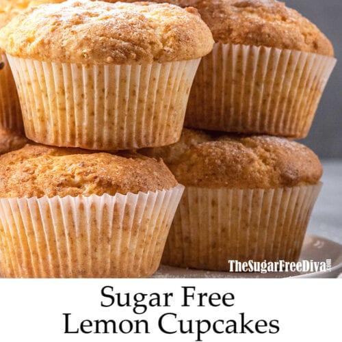 Sugar Free Lemon Cupcakes