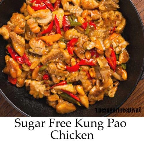 Sugar Free Kung Pao Chicken