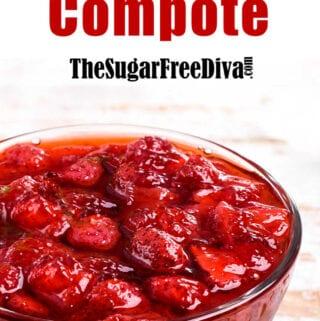 Sugar Free Strawberry Compote