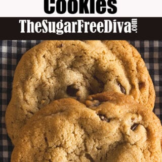 Sugar Free Copycat Doubletree Chocolate Chip Cookie