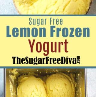 Sugar Free Lemon Frozen Yogurt