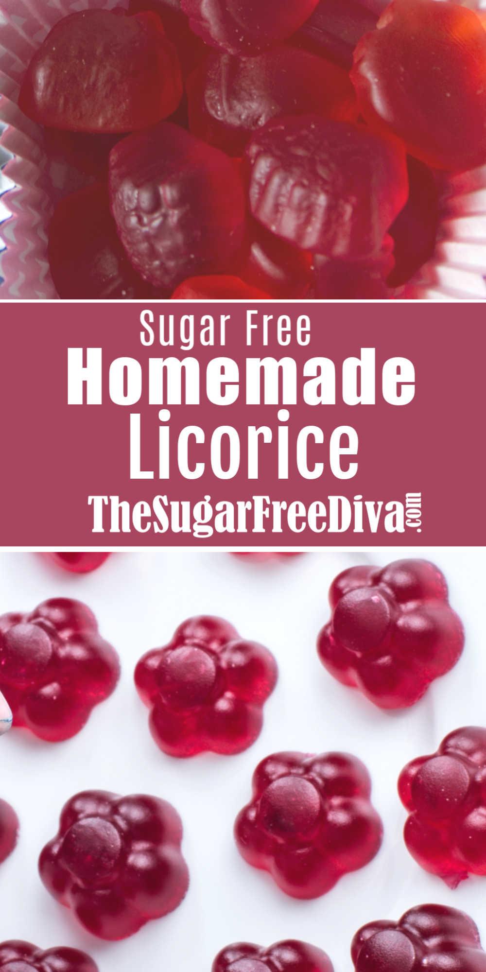 Sugar Free Homemade Licorice