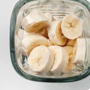 bananas in blender