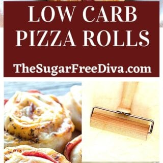 Low Carb Pizza Rolls