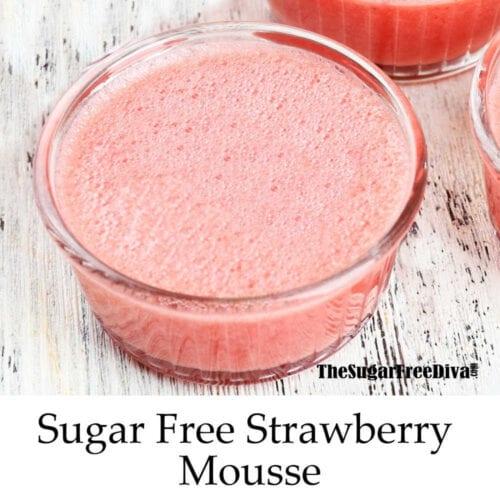 Sugar Free Strawberry Mousse