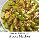 Sugar Free Apple Nachos