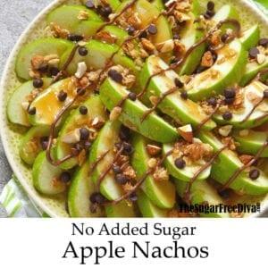 Sugar Free Apple Nachos