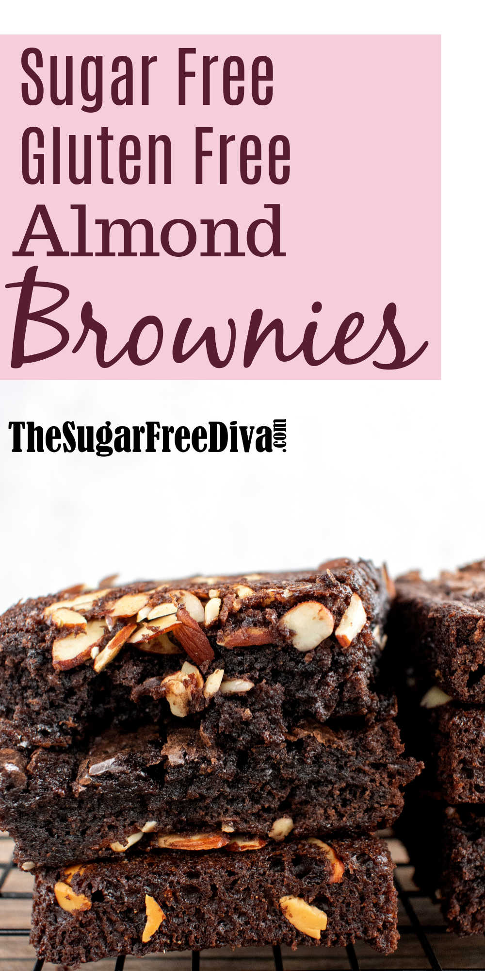 Sugar Free Gluten Free Almond Brownies