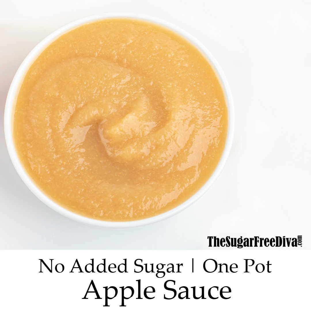 Sugar Free Instapot Apple Sauce