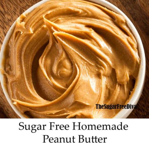 How to Make Homemade Sugar Free Peanut Butter