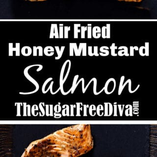 Air Fried Honey Mustard Salmon