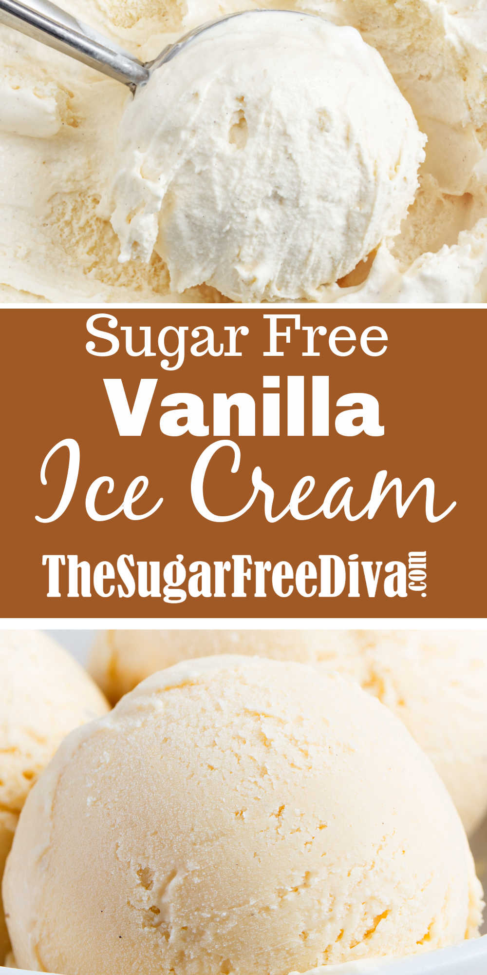 Sugar Free Vanilla Ice Cream