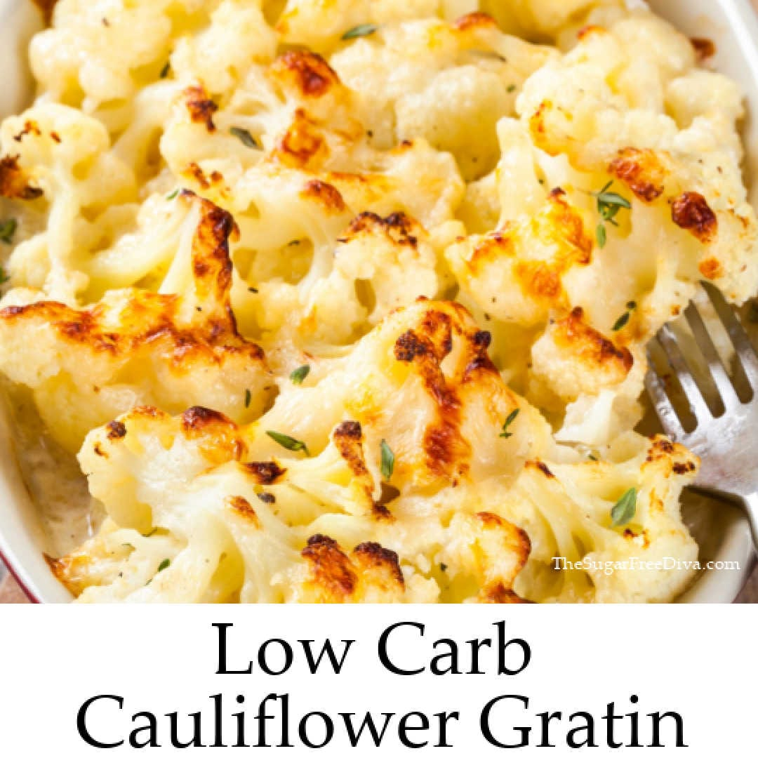 Low Carb Cauliflower Gratin