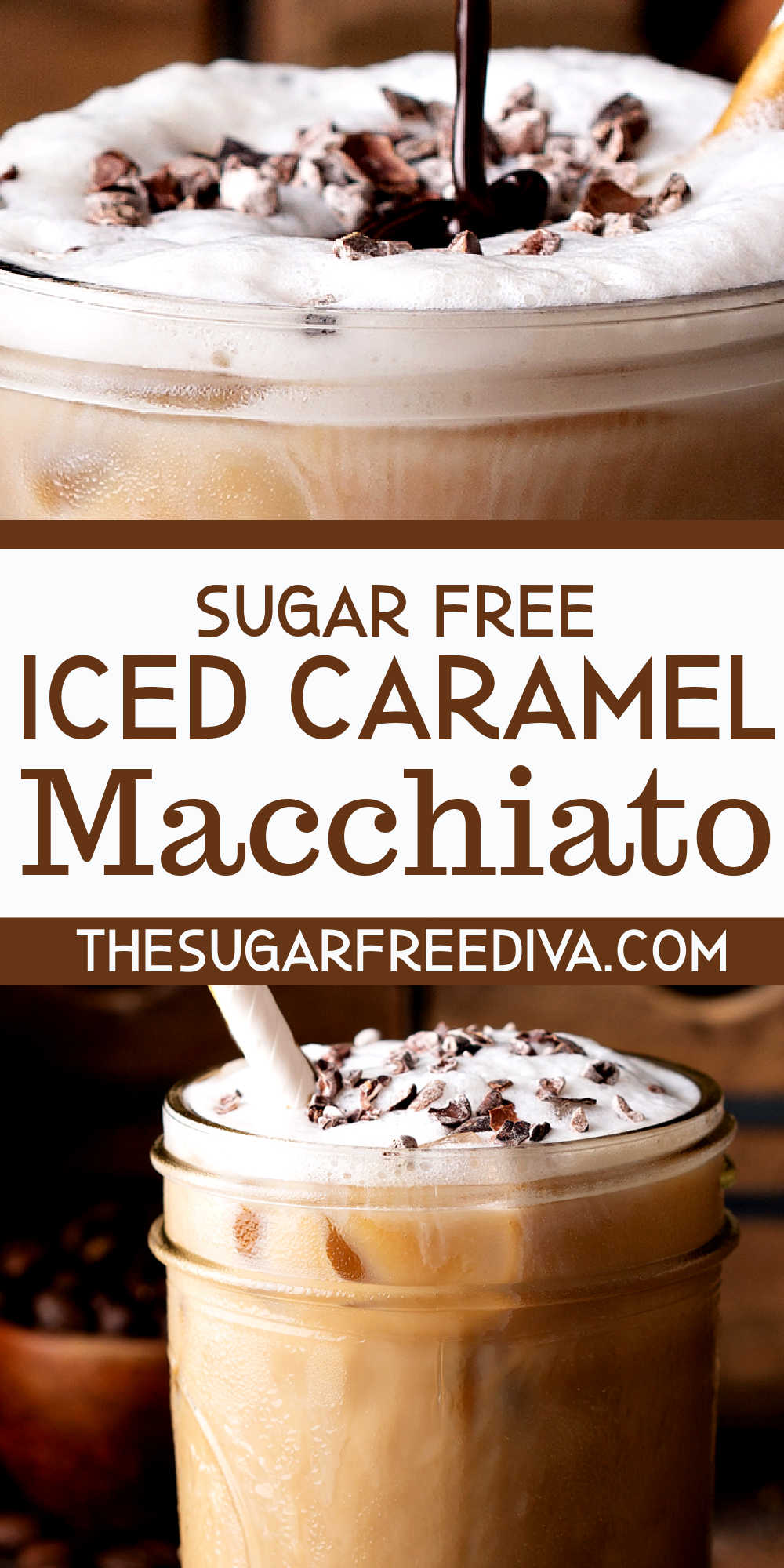 Sugar Free Iced Coffee Macchiato